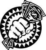 ręki mienia pieniądze Zdjęcie Stock