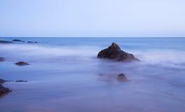 rökigt hav Fotografering för Bildbyråer