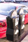 räkneverkparkering Royaltyfri Fotografi