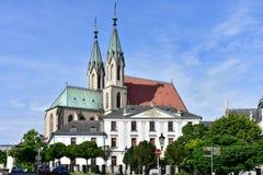 Rkomeriz,Unesco protected town,Czech Stock Image