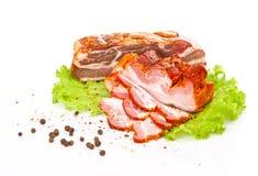 Rökt bacon Fotografering för Bildbyråer