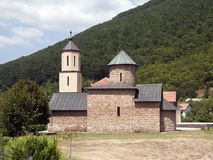 Rmanj kloster fotografering för bildbyråer