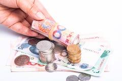 RMB现金 免版税库存图片
