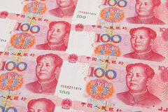rmb бумажных денег Стоковое Изображение