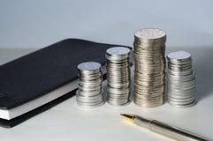 rmb примечаний монеток Стоковая Фотография RF
