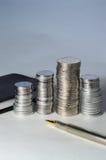 rmb примечаний монеток Стоковая Фотография