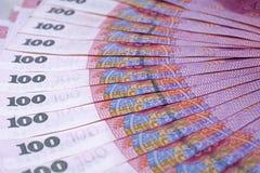 RMB 100 Royalty-vrije Stock Foto