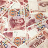 RMB. Bills of  RMB of different face value Royalty Free Stock Photography