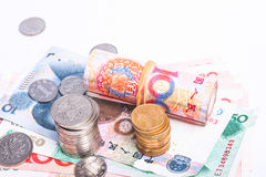 RMB cash Royalty Free Stock Images