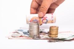RMB cash Royalty Free Stock Photography
