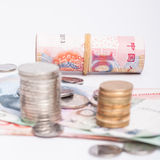 RMB cash Royalty Free Stock Photos