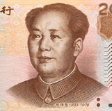 Rmb 20. Chinese money rmb background detail texture Stock Photos