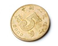 RMB coins Royalty Free Stock Image