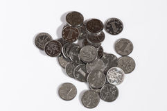 RMB coins Stock Images