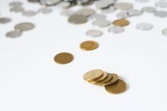 RMB coins Stock Photos