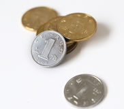 RMB coins Stock Photography