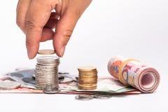 RMB-contant geld Stock Afbeelding