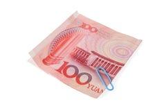 RMB hundert Stockbild