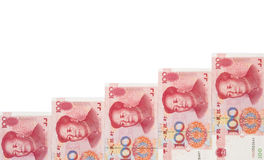 RMB keep rising Stock Images
