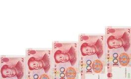 RMB keep rising Stock Images