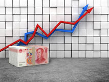RMB money Stock Photo