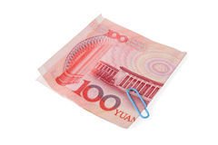 RMB one hundred Stock Image
