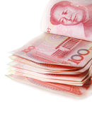 100 RMB-Rechnungen Lizenzfreies Stockfoto