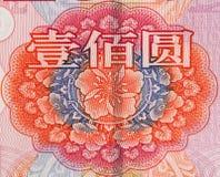 Rmb 100 yuan Stock Image