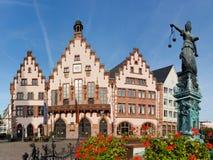 The Römer at Römerberg in Frankfurt, Germany Royalty Free Stock Image