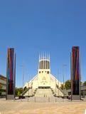 Römisch-katholische Kathedrale, Liverpool Stockbild
