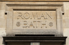 Römische Bäder Stockbilder