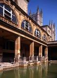 Römische Bäder, Bad, England. Lizenzfreie Stockfotos
