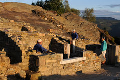 Römisches domus - Spanien Lizenzfreies Stockbild