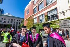Rmit毕业典礼举行日毕业典礼举行日 免版税库存图片