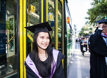 Rmit graduation day Royalty Free Stock Photos