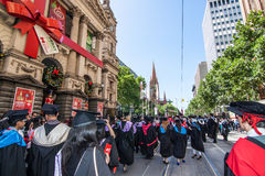 Rmit graduation day Royalty Free Stock Image