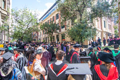 Rmit graduation day Royalty Free Stock Photo
