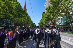 Rmit graduation day Royalty Free Stock Images