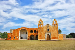 RMM01_Church_colonial_yucatecan_Mexico_03 库存图片