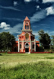RMM01_Church_colonial_yucatecan_Mexico_20 图库摄影