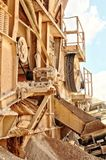 RMM03_industry_quarry_18 Stock Photography