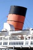 RMS玛丽皇后2巡航划线员 库存照片