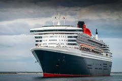 RMS玛丽皇后2 免版税库存图片