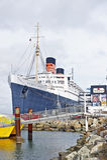 RMS Koningin Mary Oceanliner Stock Fotografie