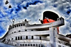 RMS Queen Mary immagini stock