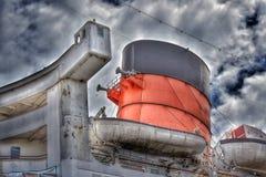 RMS Queen Mary fotografia stock libera da diritti