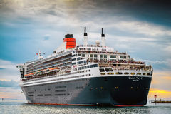 RMS Queen Mary 2 Obraz Stock
