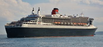RMS Queen Mary 2 Oceanliner Obraz Royalty Free