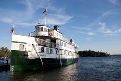 RMS Wenonah II Royaltyfri Bild