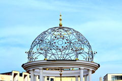 Ornamental colonnade dome Stock Photos